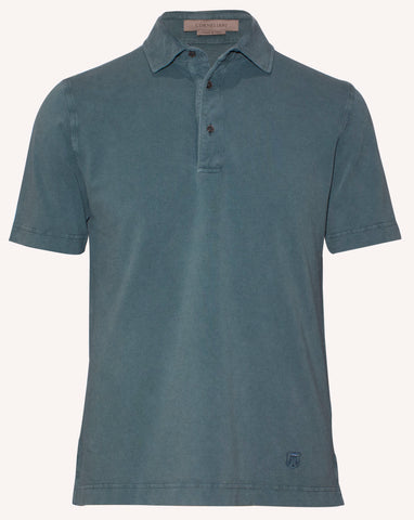 Smart casual polo shirt for men by corneliani