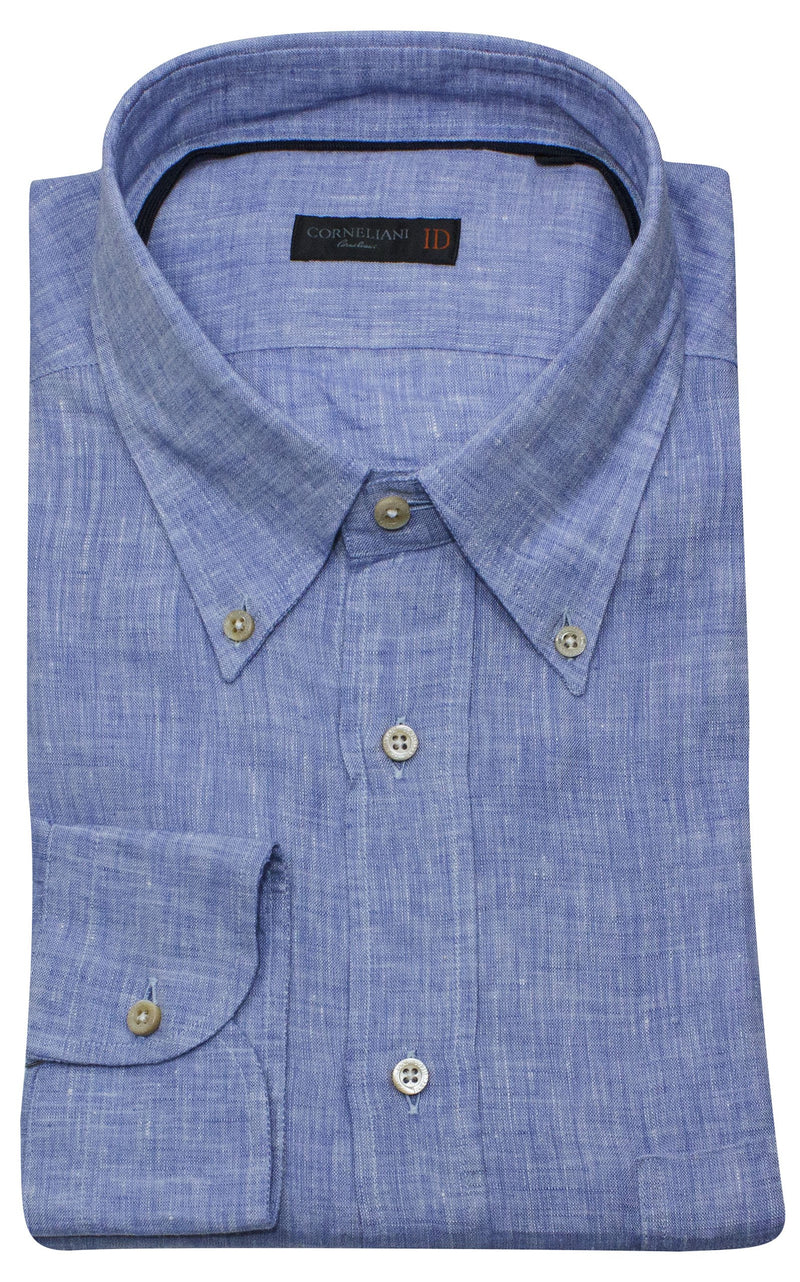BUTTON DOWN LINEN SHIRT