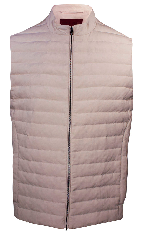 CORNELIANI PLAIN PADDED VEST
