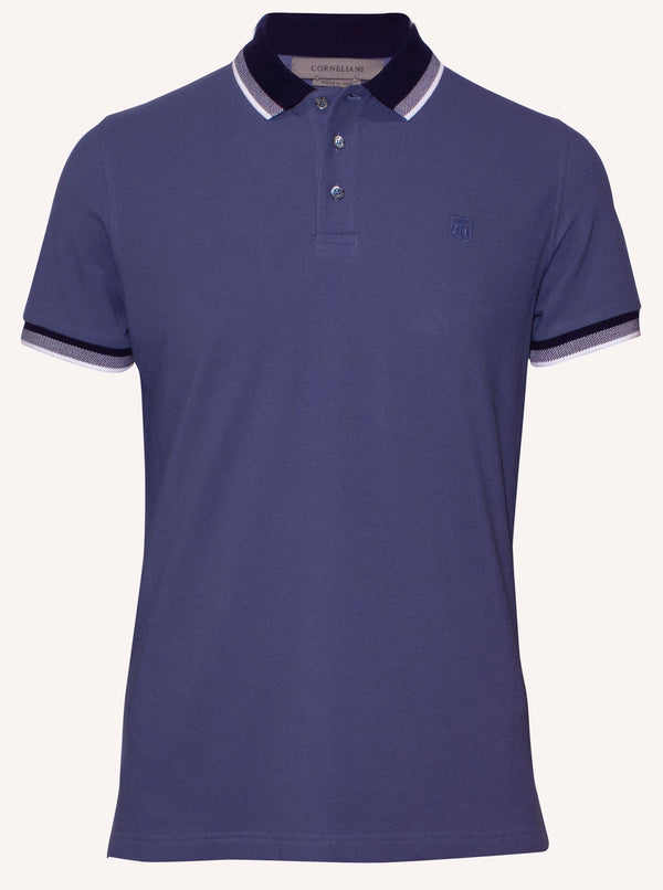 Corneliani mens casual polo shirt