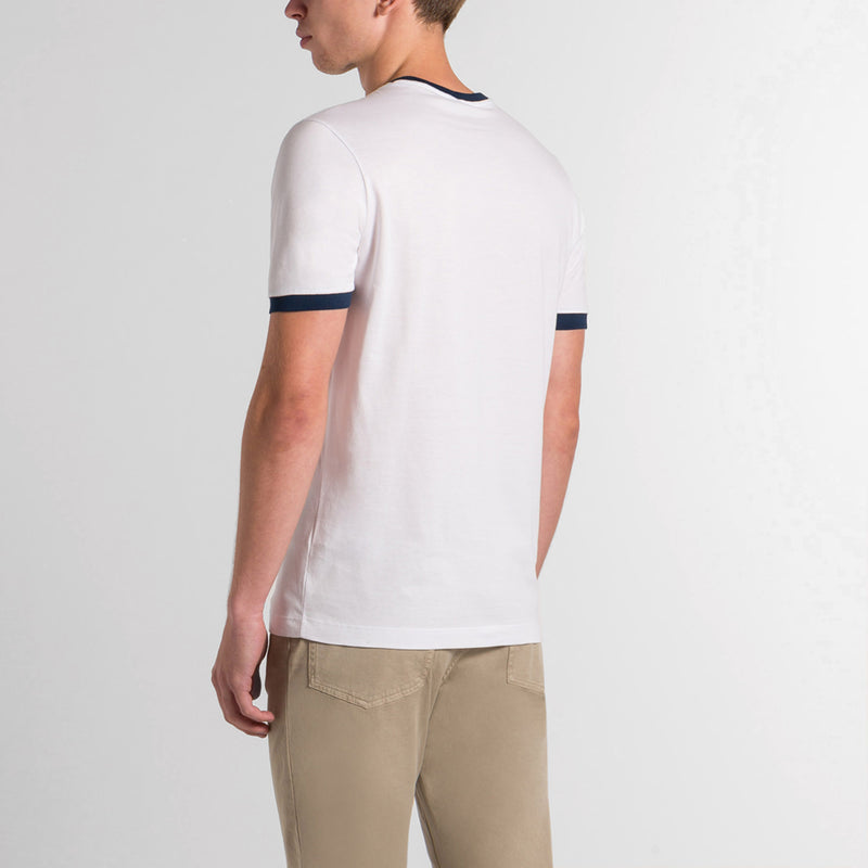 ORGANIC COTTON T-SHIRT WITH PRINTED LOGO