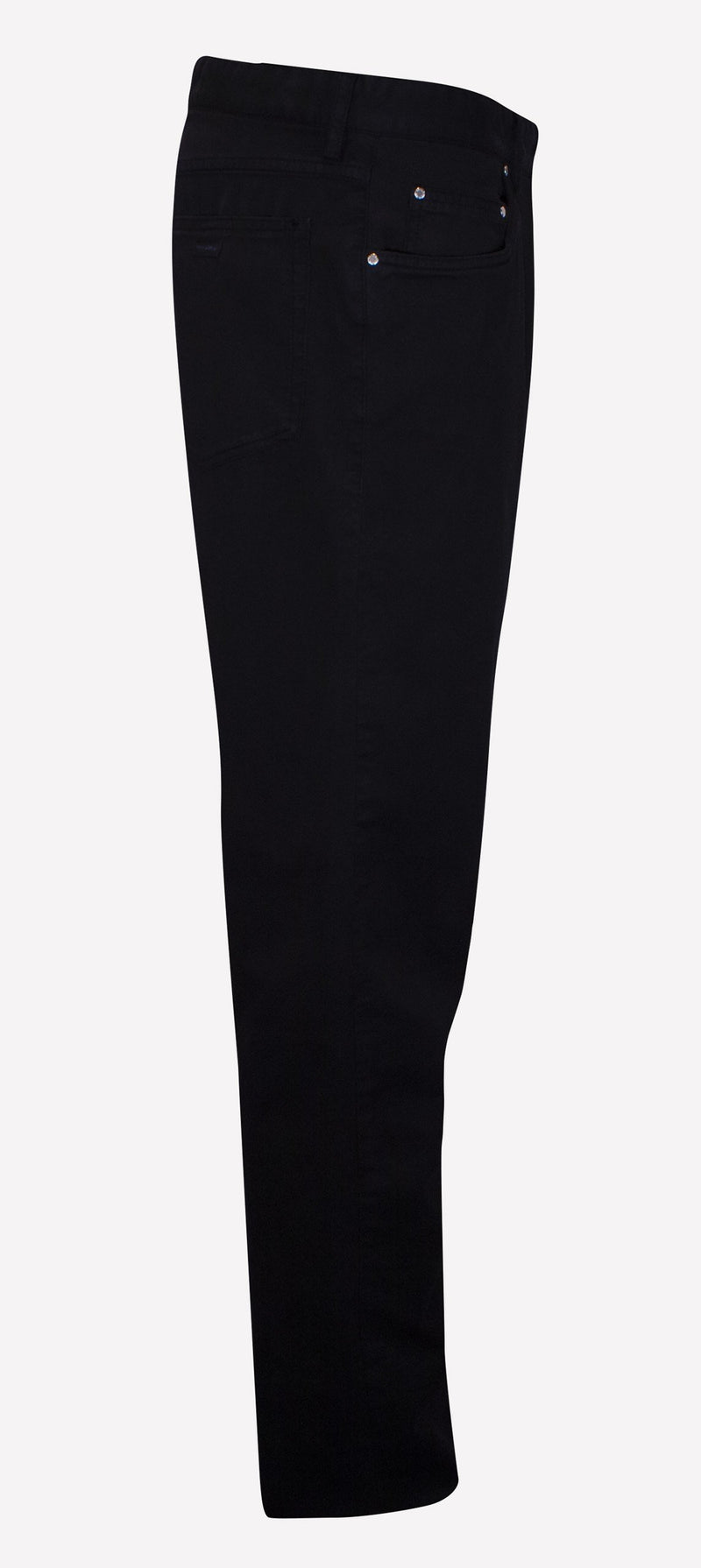 STRAIGHT-LEG CUFFED TROUSERS
