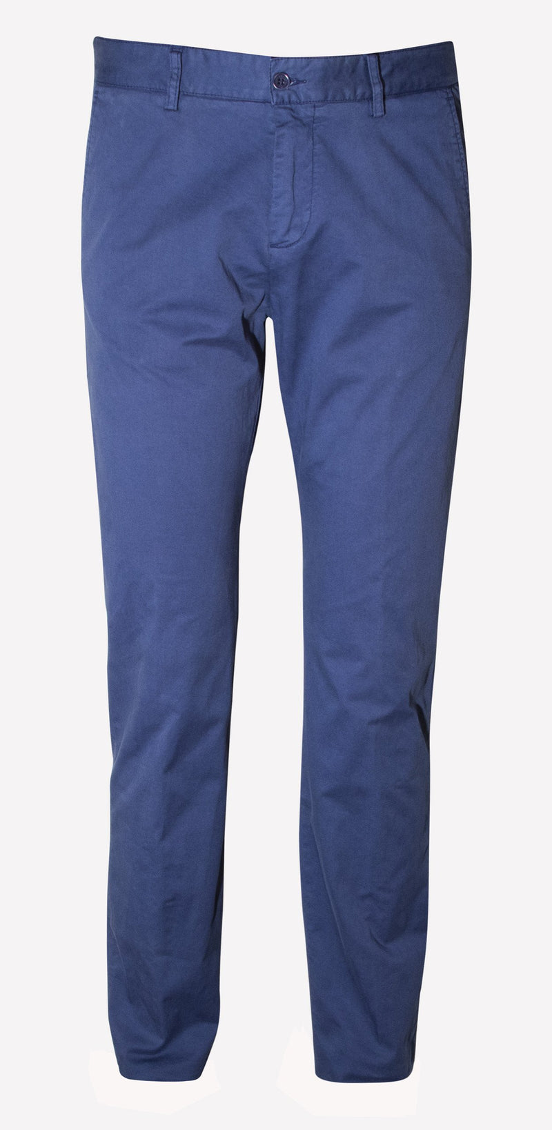 STRAIGHT-LEG CASUAL TROUSERS