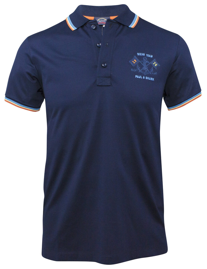 COTTON POLO SHIRT WITH EMBROIDERY LOGO