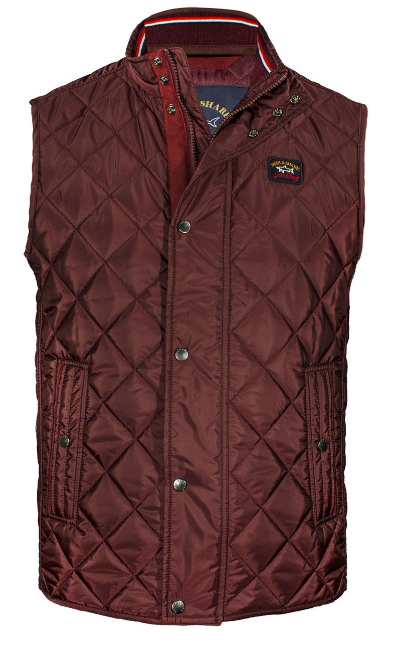 DIAMOND QUILTED GILET