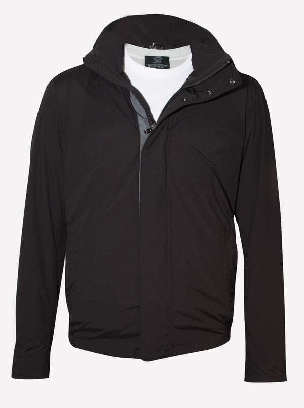 DETACHABLE HOOD JACKET