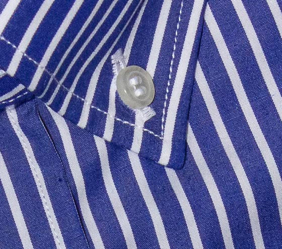BANKER'S STRIPE SHIRT