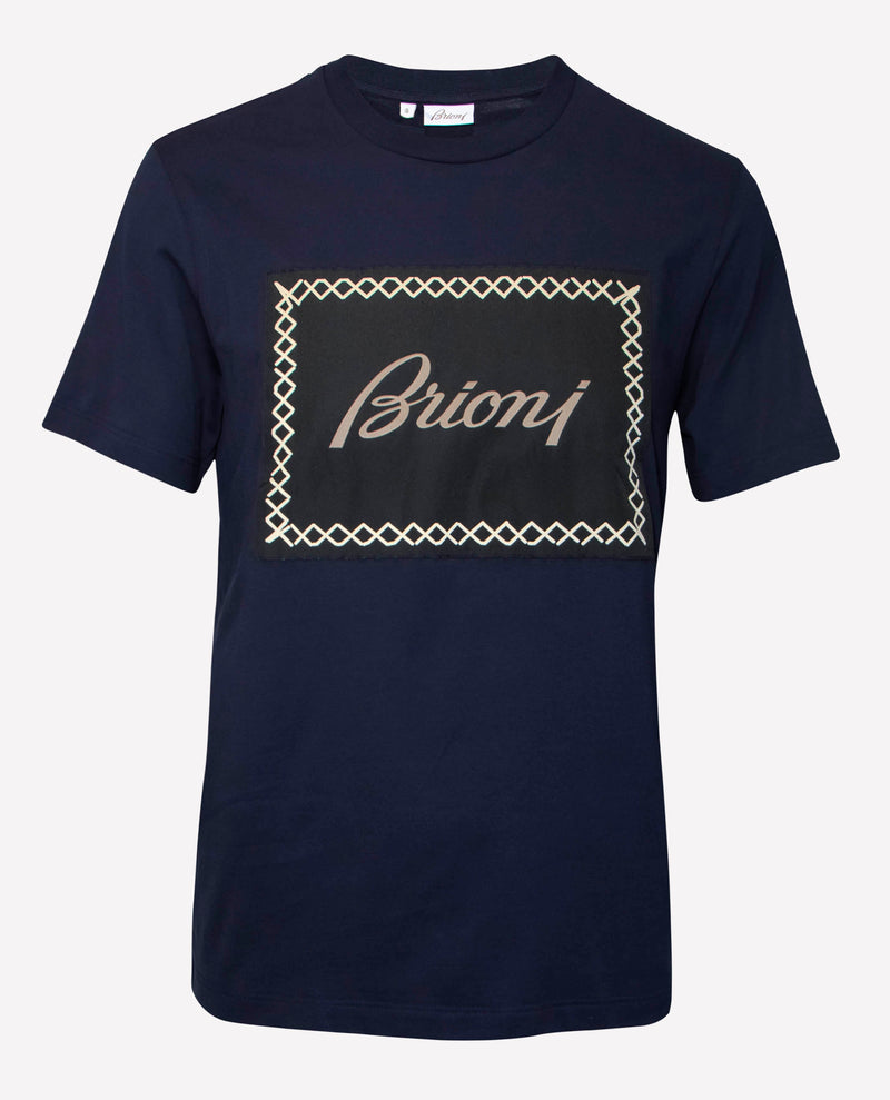BRIONI LABEL T-SHIRT