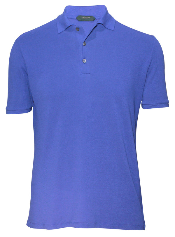 Zanone by Slowear ice pique mens casual polo shirt