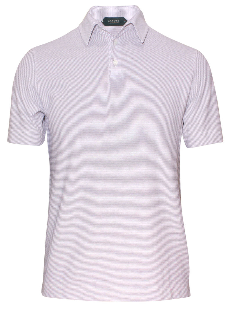 Zanone by Slowear ice cotton mens casual polo shirt