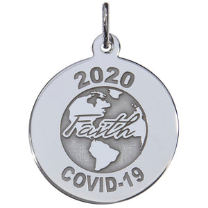 Covid-19 World Faith Charm Style 7544