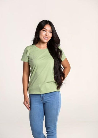 Women's 100% Organic Cotton T-Shirt - Sage Green