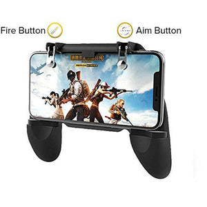 "Mobile Game Controller for PUBG Mobile Controller L1R1 Mobile Game Trigger Joystick Gamepad for 4-6.5"" iOS & Android Phone"