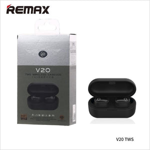 Remax wk TWS v20 Air-Dots Bluetooth with Charging Dock