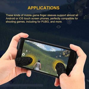 PUBG Mobile Game Finger Sleeve Controller Finger, Sweat Proof Gaming Gloves Touch Screen Game Controller Finger Cover for PUBG/Knives Out/Rules of Survival