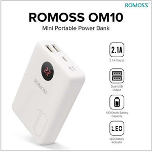 Romoss Om10 With LCD 10000 mAh