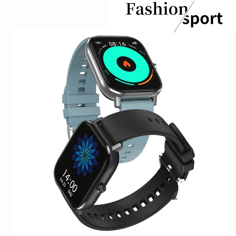 DT35 Smart Watch Bluetooth Call 2.5D Tempered Aesthetic Touch Screen Heart Rate Monitor IP67 Waterproof Wristband