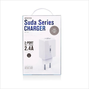 Remax Wp-U60 USB Charger 2.4A 2 Port