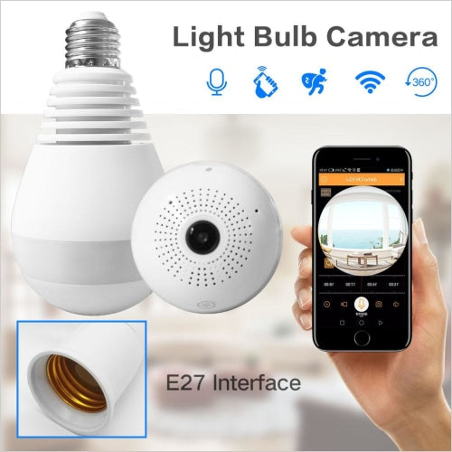 Wireless Bulb Camera