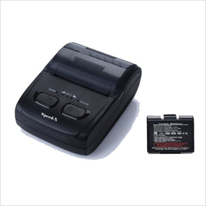 Speed-X Bt500m Mini Portable Blutooth+Usb Printer 48mm