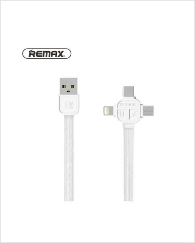 Remax RC-066th Lesu Series 3 in 1 Charging Cable