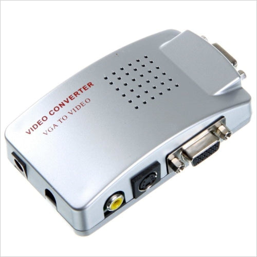 VGA To Audio Video Conversion Box