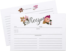 Load image into Gallery viewer, Recipe Cards - Set of 55