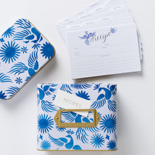 Load image into Gallery viewer, Otomi Recipe Box With 24 Cards & 12 Dividers