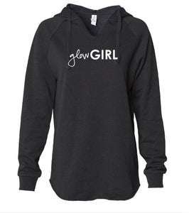 Glow Girl | Wave Wash Hooded Pullover