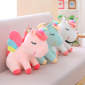 Unicornio de peluche SuperSOFT