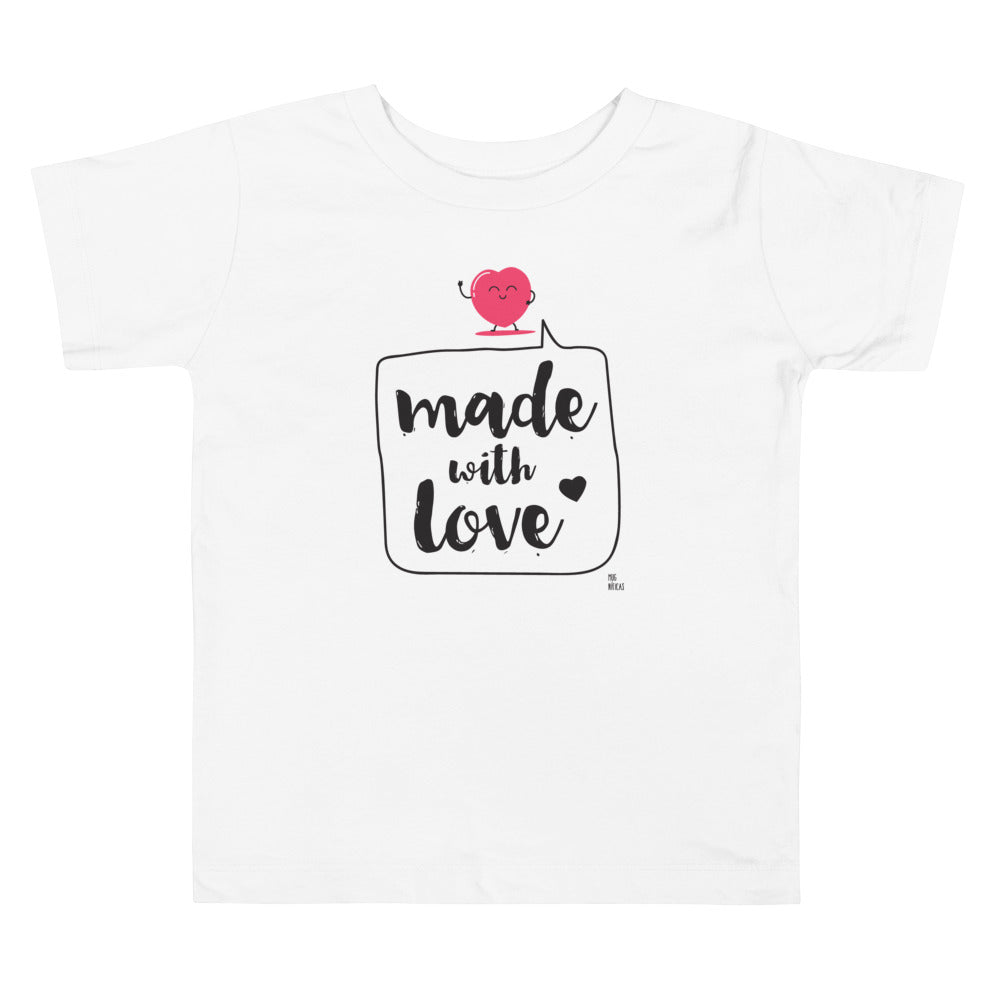 "Camiseta ""Made with Love"""