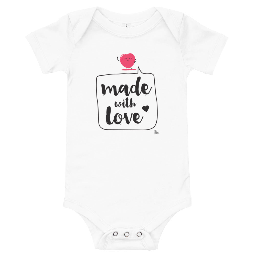 "Body Bebé ""Made with Love"""
