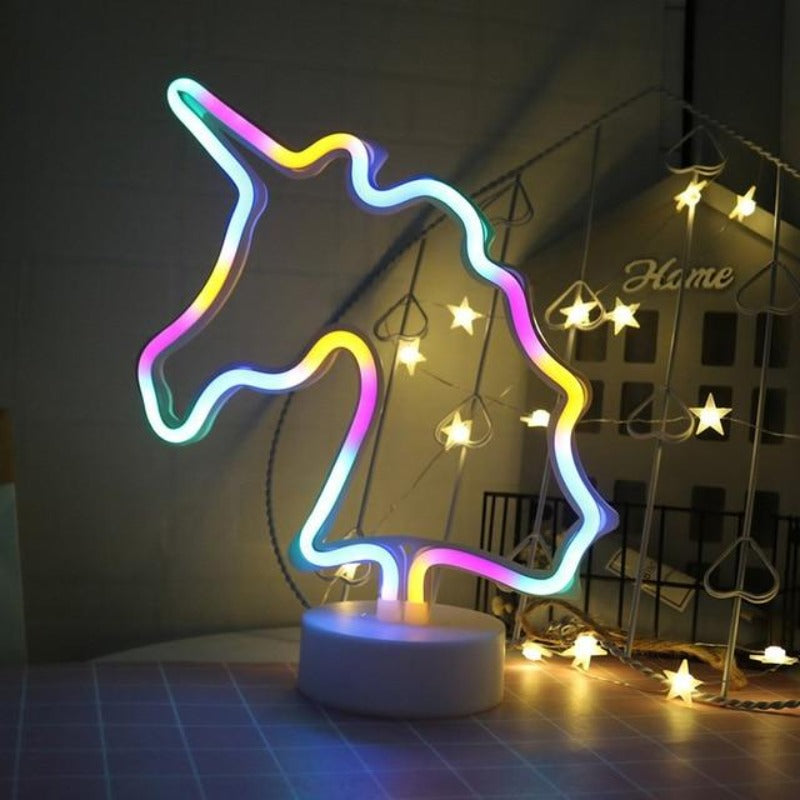 Neon Decorativo UNICORNIO