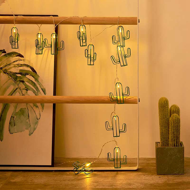 Guirnalda de luces LED CACTUS