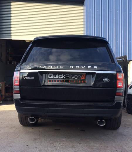 Quicksilver Exhausts For Range Rover 4.4 TDV8 Diesel w/ AdBlue - Sport Exhaust (2016 on)