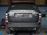 Quicksilver Exhausts For Range Rover 5.0 - SuperSport Exhaust (2013 on)