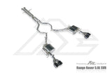 Frequency Intelligence Cat Back Exhaust System For Range Rover SV-Autobiography