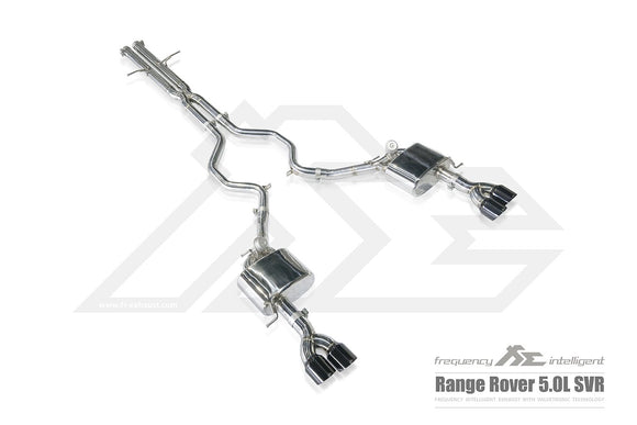 Frequency Intelligence Cat Back Exhaust System For Range Rover SVR (Pre Facelift)