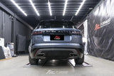 Frequency Intelligence Cat Back Exhaust System For Range Rover Velar P380