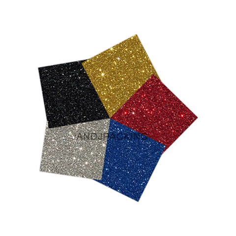 glitter htv vinyl bundle 5 sheets
