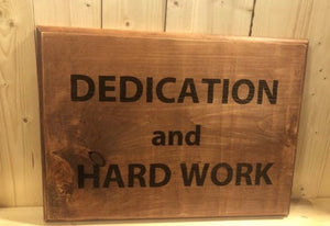 Wood Sign Sayings - Custom Wood Sign - Weaver Custom Engravings