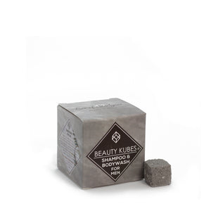 Zero Waste Men's Shampoo and Body Wash Cubes