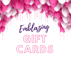 Emblazing Beauty Gift Card