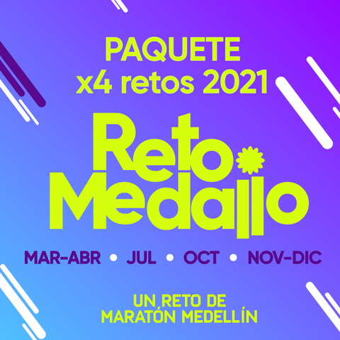 Inscripción 4 RETOS MEDALLO 2021