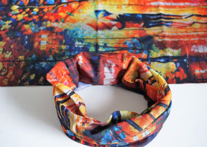 Infinity Headwraps in Abstract