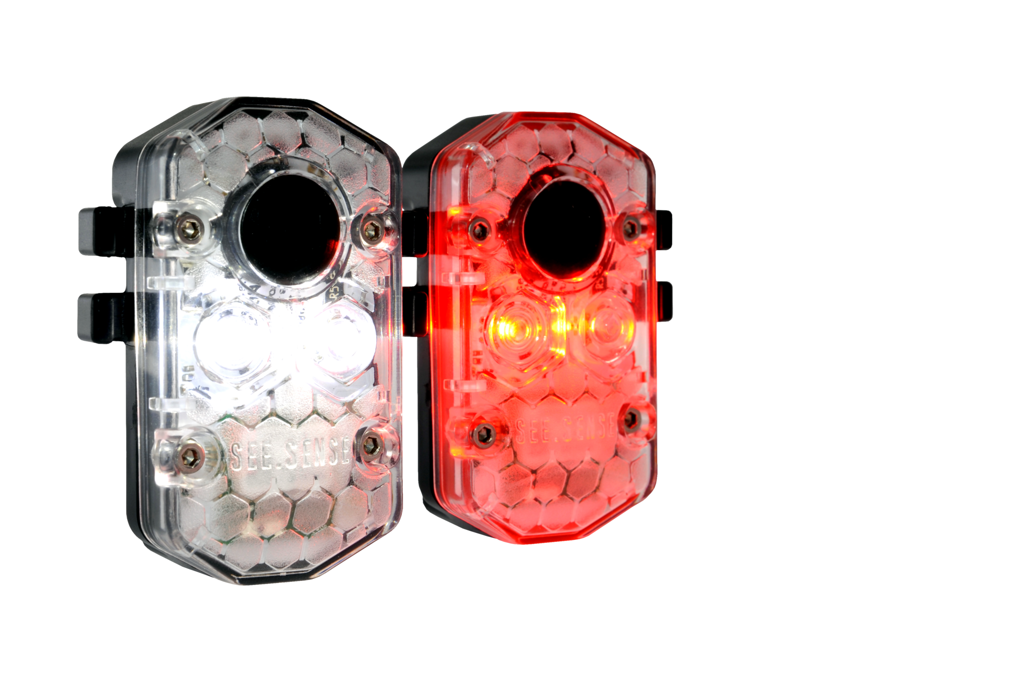 See.Sense Intelligent Sensor Front and Rear Cycling Light Sets Made in the UK