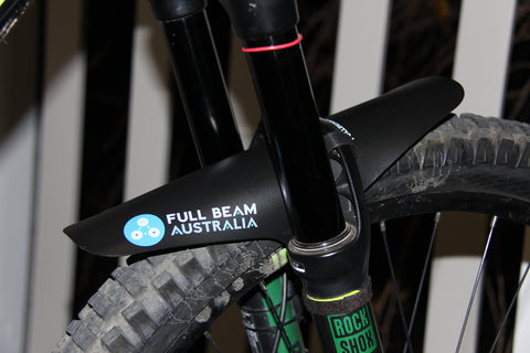 ULTRA LIGHT WEIGHT FRONT FORK MTB MUD FENDER XL