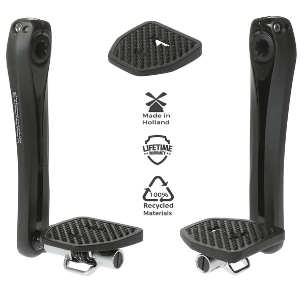 Pedal Plate Adapter for Crankbrothers Eggbeater & Candy