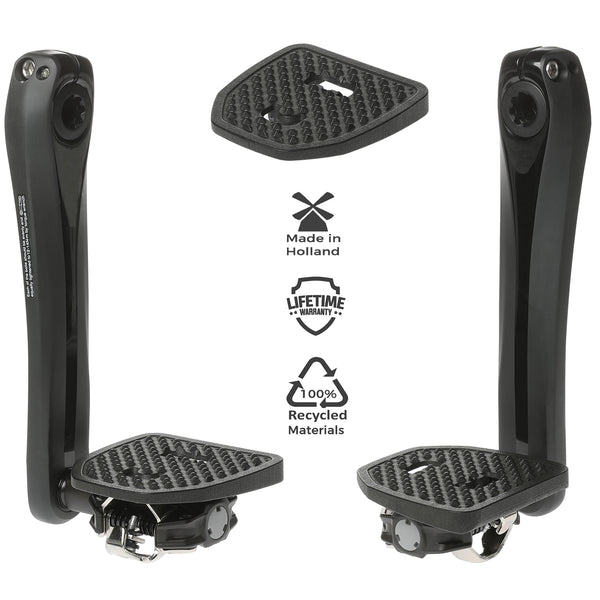 Pedal Plate Adapter for Shimano SPD & Look X-Track