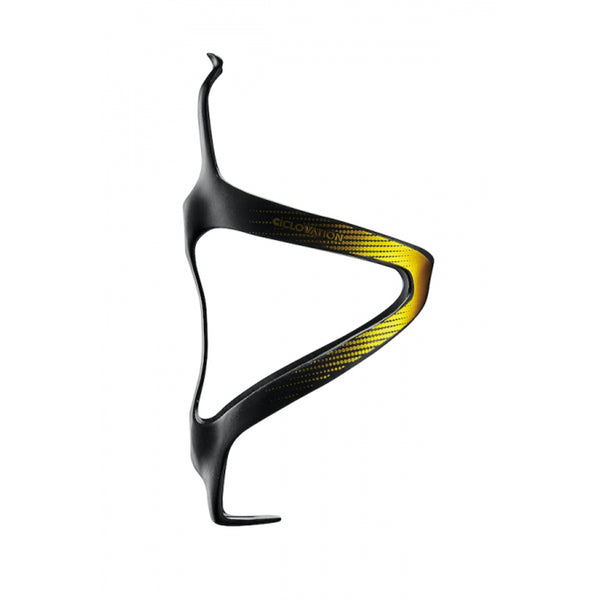 Ciclovation Premium Carbon Cages - Flash Gold